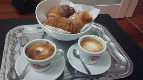 Breakfast options available to guests at B&B Piantanova
