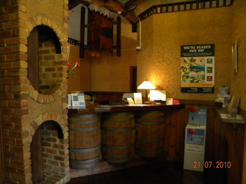 The lobby or reception area at Mahogany Park