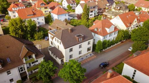 A bird's-eye view of Haus Eyers
