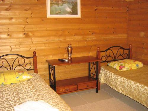 Кровать или кровати в номере Anapa Resort