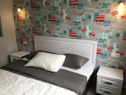 Кровать или кровати в номере The House Of The Pond