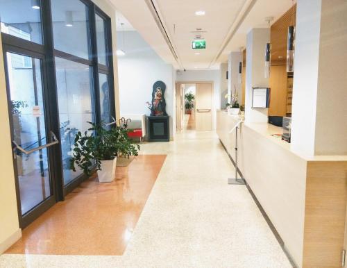 The lobby or reception area at Domus Helena