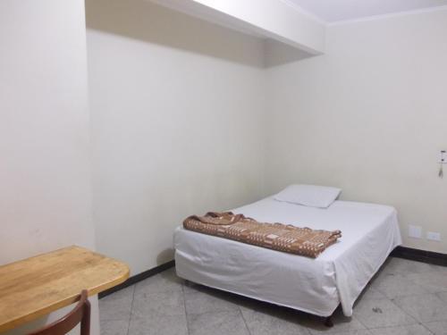 Cama ou camas em um quarto em Central Plaza Flat