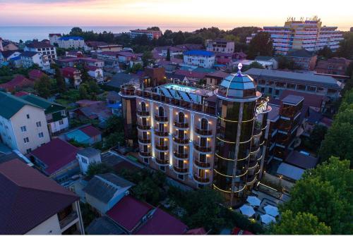 Отель Shine House с высоты птичьего полета