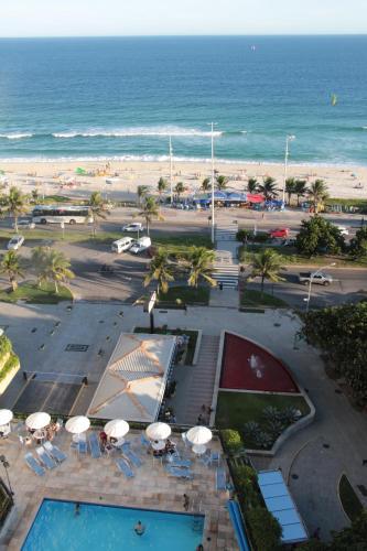 Uma vista aérea de BarraBella Apart-Hotel
