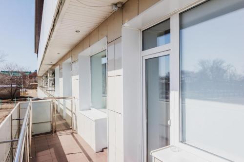 Балкон или терраса в Гостиничный Комплекс Парк - Отель Пушкин
