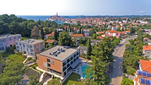 A bird's-eye view of Hotel Arupinum