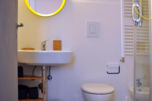 A bathroom at Capofortuna B&B Salerno Centro