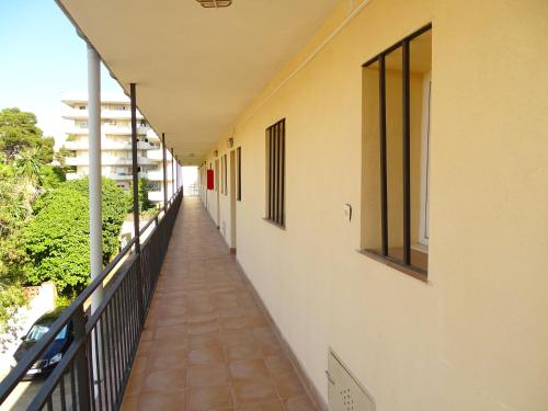 A balcony or terrace at Rex Apartment
