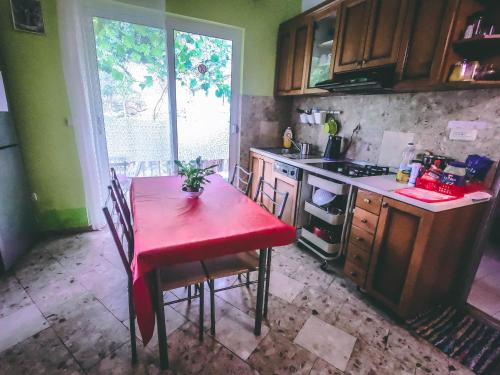 A kitchen or kitchenette at Anchi Guesthouse