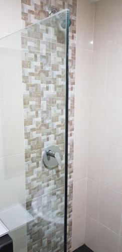 A bathroom at SP hotel