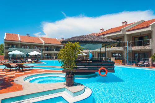 The swimming pool at or near Club Hotel Turan Prince World - Kids Concept