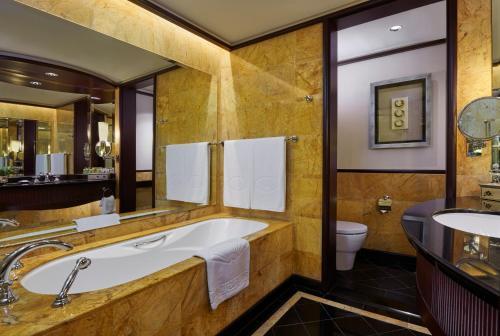 A bathroom at Mandarin Oriental, Kuala Lumpur
