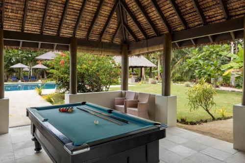 A pool table at Eratap Beach Resort