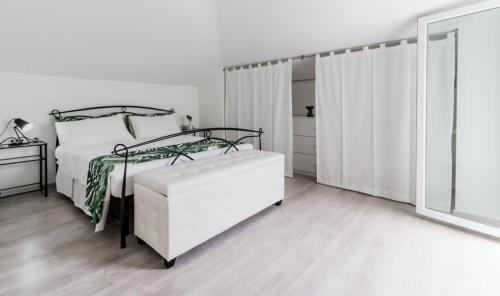 Letto o letti in una camera di Montesilvano spiaggia
