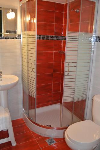 Ένα μπάνιο στο Διαμερίσματα της Αγγελικής