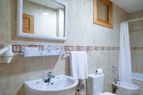 Een badkamer bij Hotel Marquesa