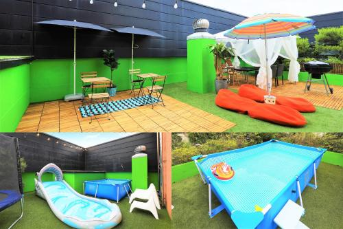 The kid's club at Boutique Hotel Loft