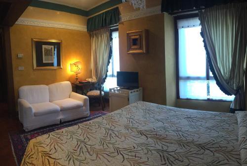 Area soggiorno di Hotel Gabbia D'Oro