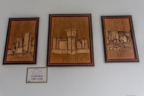 The floor plan of O Castelo