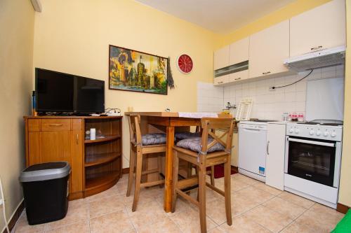 Küche/Küchenzeile in der Unterkunft ART Apartment