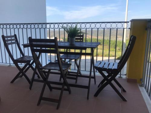 A balcony or terrace at Apartamento POR DO SOL