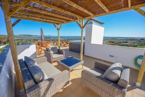 A balcony or terrace at Palmares Beach, Golf & Dream