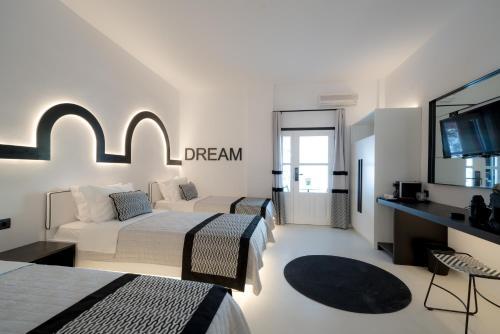 Area soggiorno di Divelia Hotel