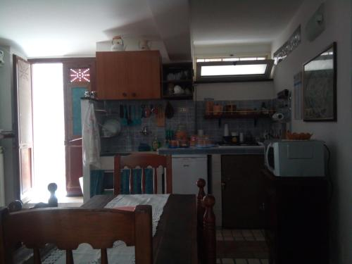 Cucina o angolo cottura di Calì B&B