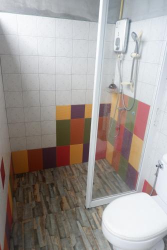 Ein Badezimmer in der Unterkunft Phang-nga cottage