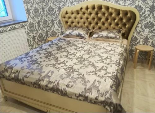 Кровать или кровати в номере Apartments