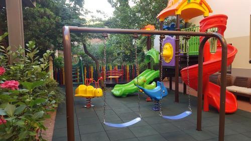 Hotel Mia Cara tesisinde çocuk oyun alanı