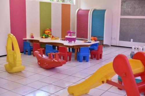 The kid's club at Gran Lençóis Flat Residence