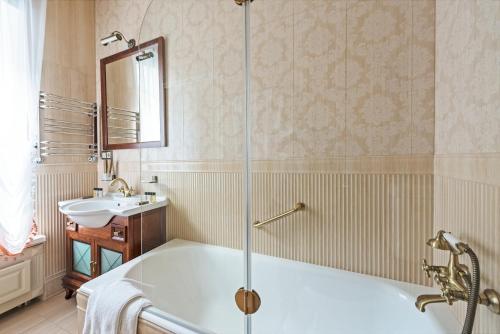 Ванная комната в Бутик-Отель Тургеневъ