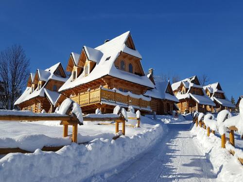 Obiekt TatryTOP Miśkowa Ostoya zimą