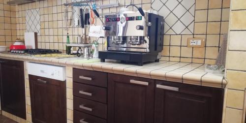 A kitchen or kitchenette at B&B MareIncantato