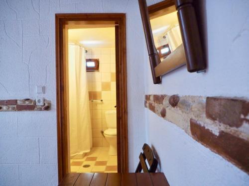 Salle de bains dans l'établissement Auberge 32