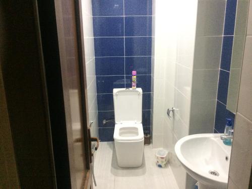 Um banheiro em chastnyi dom v Baku