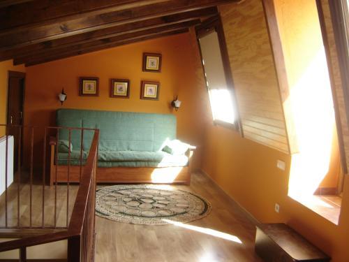 Zona de estar de Hostal Casa Laure y Mª Jose