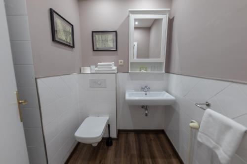 Kúpeľňa v ubytovaní Penzion na letisku - areál SKY PARK