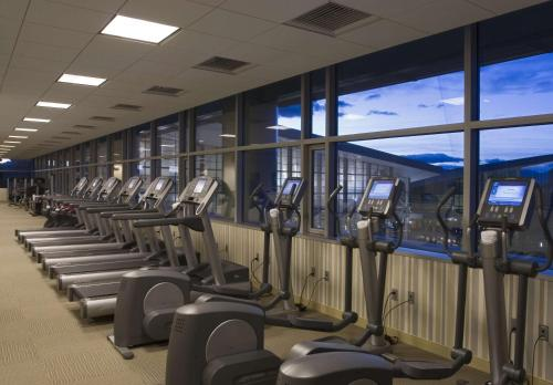 The fitness center and/or fitness facilities at Hyatt Regency Denver at Colorado Convention Center