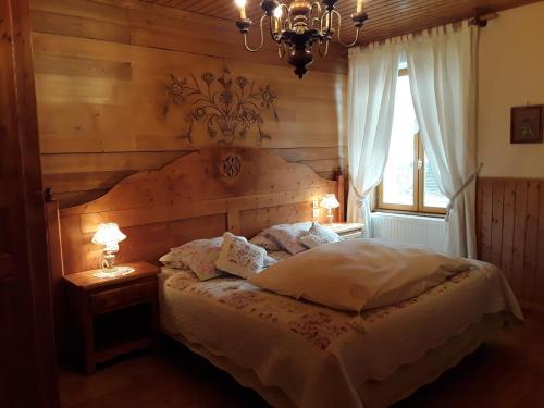 Un ou plusieurs lits dans un hébergement de l'établissement Le Bellevue
