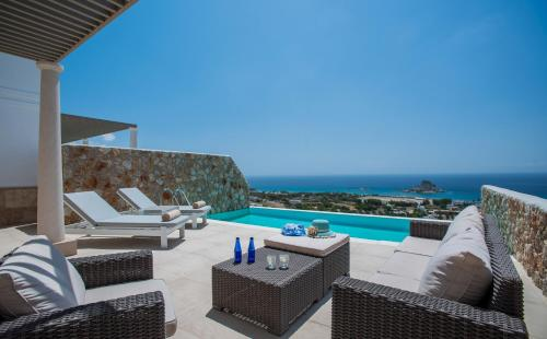 The swimming pool at or near White Rock of Kos Hotel - Adults only
