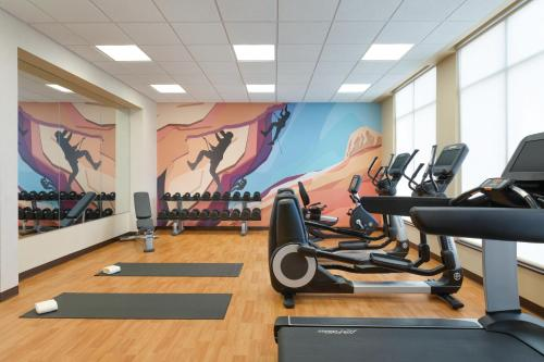 The fitness center and/or fitness facilities at Hyatt Place Page Lake Powell