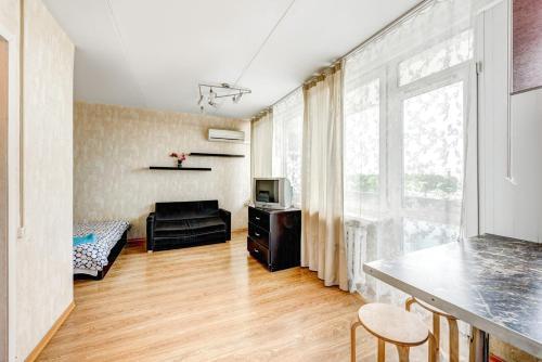 Гостиная зона в Апартаменты на Ленинградском проспекте 33А