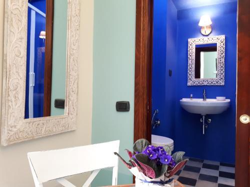 A bathroom at Sofia Family Suites