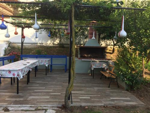 BBQ facilities na available sa mga guest sa apartment