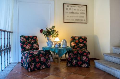 Area soggiorno di Villa Fausta B&B