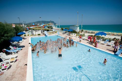 The swimming pool at or near Villaggio Centro Vacanze De Angelis