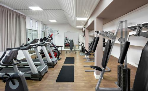 The fitness center and/or fitness facilities at Nof Ginosar Kibbutz Hotel
